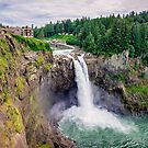 Snoqualmie Falls, Washington by Jonicool