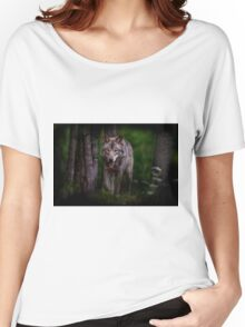 Timberwolf 1 - Photoshop Manipulation Women's Relaxed Fit T-Shirt