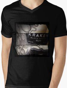 Kraken Mens V-Neck T-Shirt