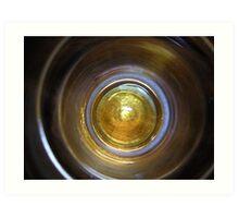 Beer in the end Art Print