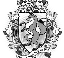 Fox Coat Of Arms Heraldry by helloheath