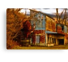 Industrial Decay Canvas Print