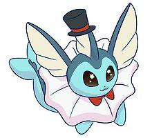 Dapper Pokemon - Vaporeon by saucycustoms