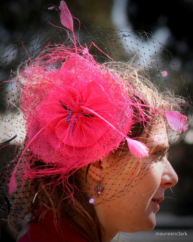 Pink Hat by Maureen Clark