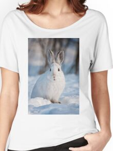Snow Shoe Hare Women's Relaxed Fit T-Shirt
