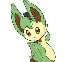 Dapper Pokemon - Leafeon by saucycustoms