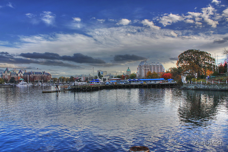 Inner Harbour, Victoria, Vancouver Island. BC. Canada by AnnDixon