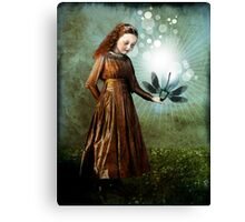 Shining light Canvas Print