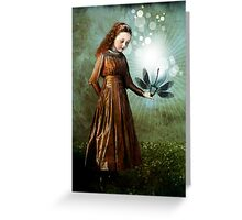 Shining light Greeting Card