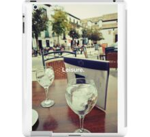 Spain Relaxation iPad Case/Skin