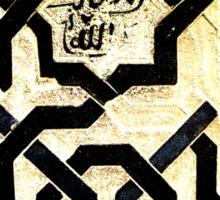 Geometric Design of Love Sticker