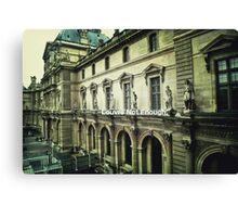 Paris The Louvre  Canvas Print