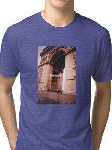 Paris Arc de Triomphe Tri-blend T-Shirt