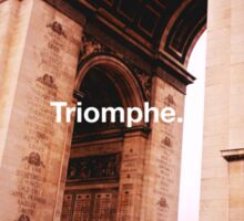 Paris Arc de Triomphe Sticker
