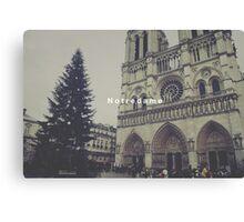 Paris Notre Dame Canvas Print