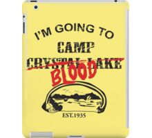 Camp Blood iPad Case/Skin