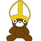 Does The Bear Wear A  Funny Hat?! by Louwax