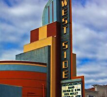 Westside theatre, Newman, CA by XanthicAmber