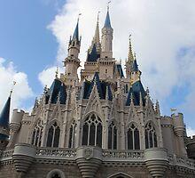 Cinderella's Castle (Backside) by disneylandaily