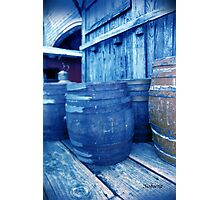 Roll Out the Barrels Photographic Print