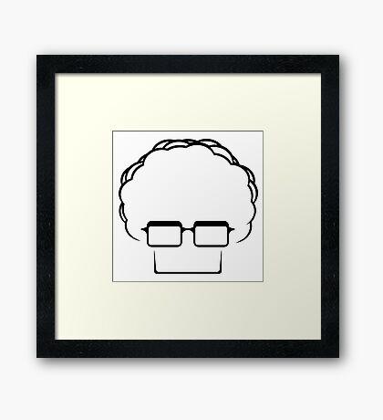 Brady Head Framed Print