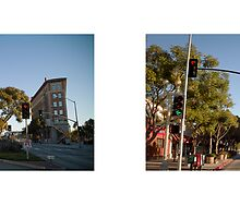 Culver Boulevard + Cardiff Avenue, Culver City, Los Angeles, California, USA...narrowed. by David Yoon
