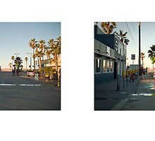 Washington Boulevard Terminus, Venice, Los Angeles, California, USA...narrowed. by David Yoon