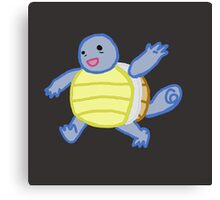 Doodle Squirtle Canvas Print