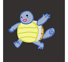 Doodle Squirtle Photographic Print