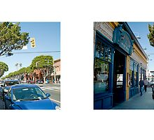 Main Street + Hill Street, Santa Monica, Los Angeles, California, USA...narrowed. by David Yoon