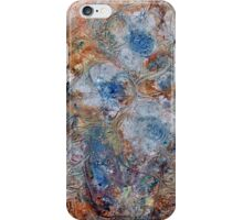 THREE BLUE FLOWERS  by Janai-Ami iPhone Case/Skin