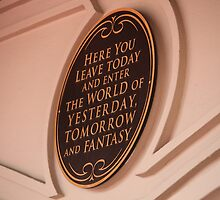 Yesterday, Tomorrow, and Fantasy by disneylandaily