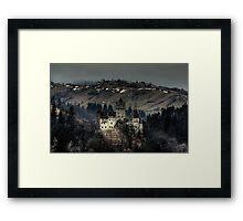 Dracula's Castle Framed Print