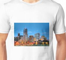 Downtown Denver at Dusk HDR Unisex T-Shirt