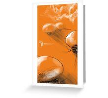 Venus - Aerostat Cities Greeting Card