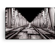 Rail Bridge Canvas Print