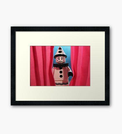 Stage Fright Framed Print