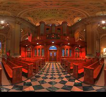 360 degree  view ( LINK in description)  of the The Cathedral Basilica of SS.Peter & Paul   by electron