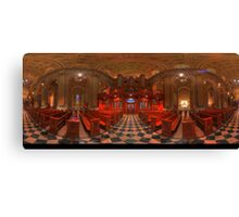 360 degree  view ( LINK in description)  of the The Cathedral Basilica of SS.Peter & Paul   Canvas Print