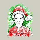 Young Santa Tee by iskamontero