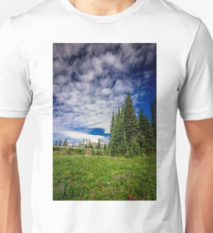 Mt Rainier, Washington Unisex T-Shirt