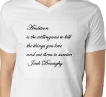 Jack Donaghy's Throw Pillow  Mens V-Neck T-Shirt