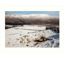 Whernside - Yorkshire's Highest Peak Art Print