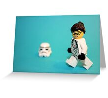 Lady Stormtrooper Greeting Card