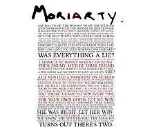 Mor(ia)rty Photographic Print