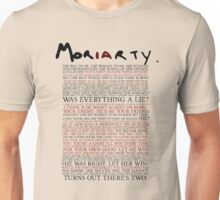 Mor(ia)rty Unisex T-Shirt