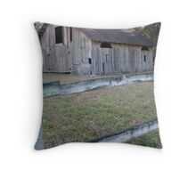 Rustic Micanopy Barn Throw Pillow