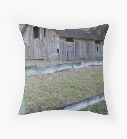 Rustic Micanopy Barn Throw Pillow