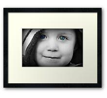 Blue Eyed Boy Framed Print