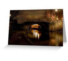 Bow Canal Greeting Card